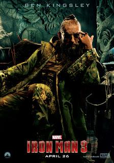 Iron Man 3 MANDARIN Ben Kingsley