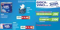 Logo Ipersoap ''Gioca e vinci con Tempo 2019 '' : in palio 100 buoni spesa da 20€ e 2 carnet da 250€!