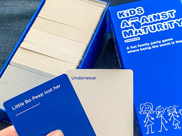 Review: Kids Against Maturity Game