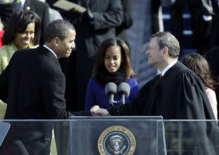 President and Chief Justice Barack H. Obama