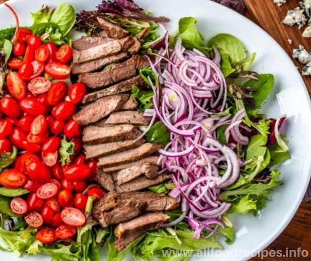 Steak Salad & Balsamic Dressing