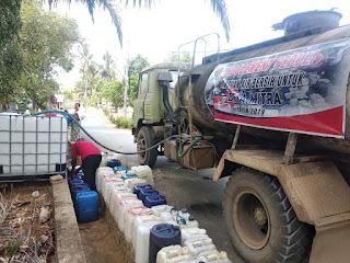Indocement Distribusikan 2,2 Juta Liter Air Bersih Untuk Warga