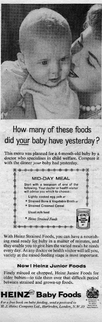 Clippings from old parenting magazines