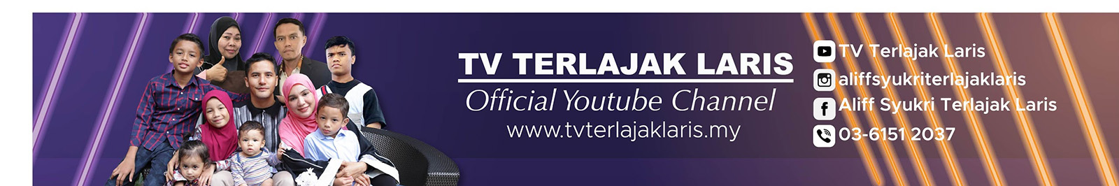 TV Terlajak Laris YouTube Channel