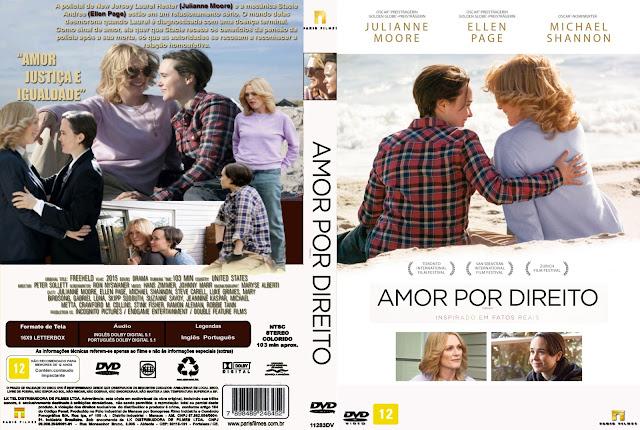 Capa DVD Amor Por Direito