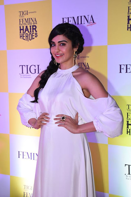 Actress Adah Sharma at the Red Carpet of Femina Salon & Spa Hair Heroes 2016