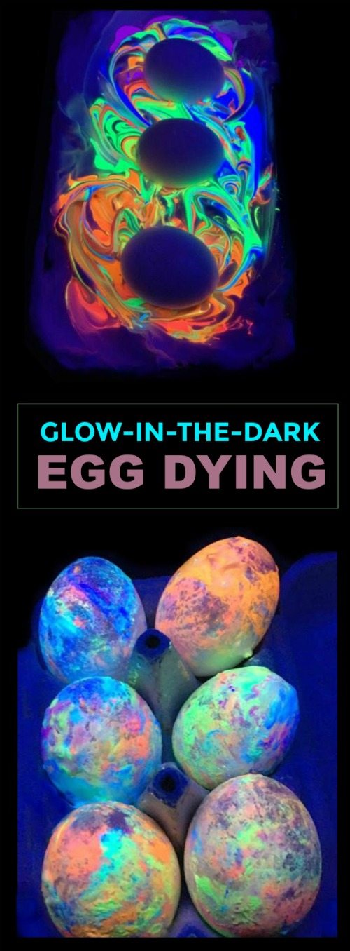 GLOW-IN-THE-DARK EGG DYING- what? My kids are going to flip!! #eastercrafts #eastereggdecorating #eggdyingideas #glowinthedarkeastereggs #eastercraftsforkids #easteractivitiesforkids #eastereggs #glowinthedarkeggs #easteractivitiesforpreschool #craftsforkids #activitiesforkids