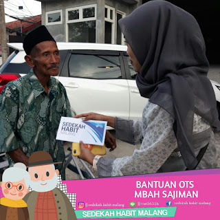Mbah Sajiman : Bantuan OTS