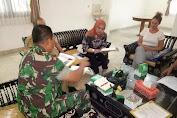 DPD RI Bekerjasama Dengan Pemkab Lobar, LSM Dan Dansatgas Akan Bangun Huntara