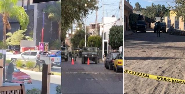 Ya encontraron los autos utilizados en balaceras; tras las pistas de Sicario de El Mencho Militares en operativo en Zapopan, Jalisco
