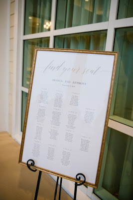 traditional wedding seating chart