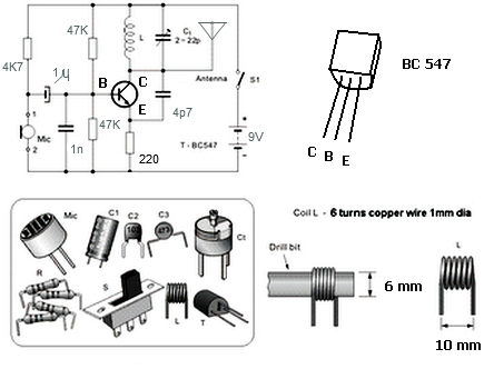 techno-science: Simple FM Transmitter with BC549