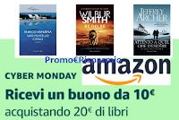 Logo Amazon ricevi buono da 10€ acquistando 20€ di libri. Affrettati