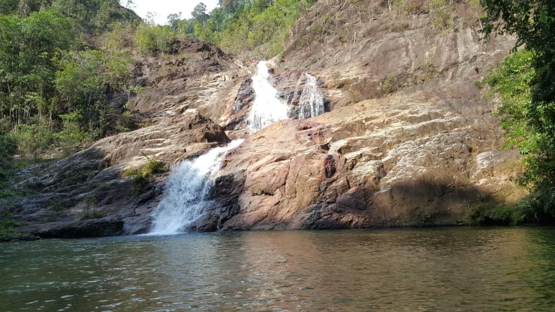 Jerangkang Waterfall Air Terjun Jerangkang Level 21