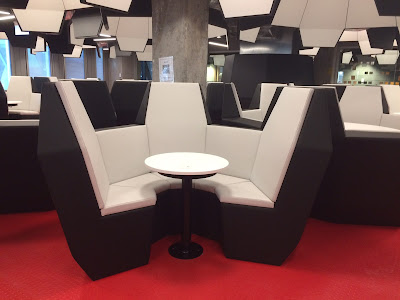 New black and white seating