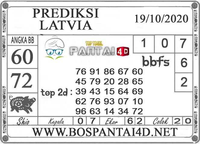 PREDIKSI TOGEL LATVIA PANTAI4D 19 OKTOBER 2020