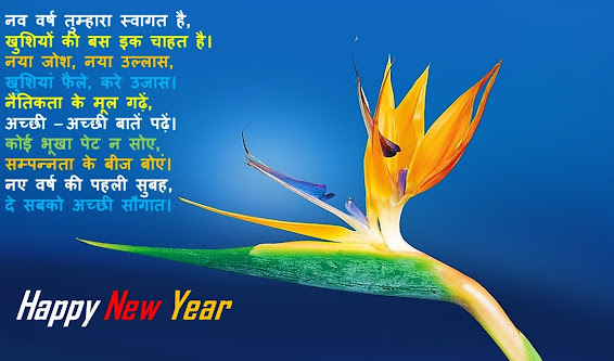 Happy New Year Poem in Hindi