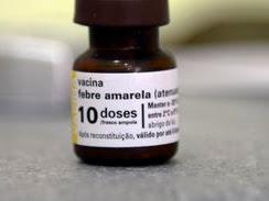 Ministério da Saúde faz alerta sobre febre amarela