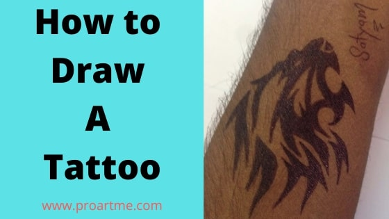 How to Draw a Tattoo