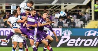 إنتر ميلان يتصدر الدوري الإيطالي مؤقتًا بعد فوز 3 نقاط من فيورنتينا.