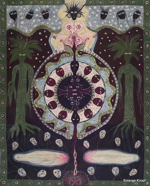 #Solange Knopf# # Spirit Codex#