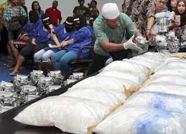 Miris…Jumlah Sabu Cina ke Indonesia Hingga 250 Ton