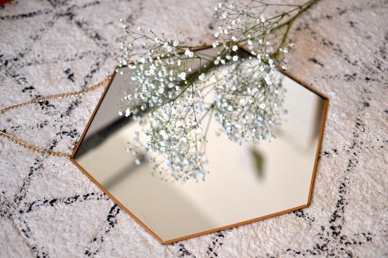 miroir hexagonale - Pimkie