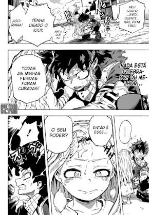 Mangá Boku No Hero Academia Capítulo 156