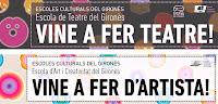 A partir de l'1 de juny ja us podeu matricular a les Escoles de Cultura del Gironès!