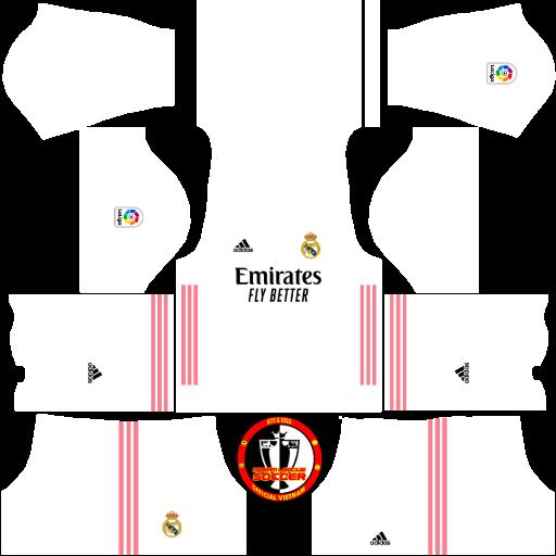 Kits Real Madrid CF 2021 - Dream League Soccer 2019 & FTS