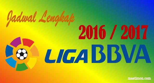Jadwal La Liga Spanyol 2017 lengkap dengan jam tayang dan Klasemen sementara