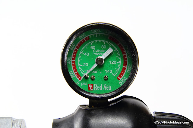 Red Sea high pressure gauge