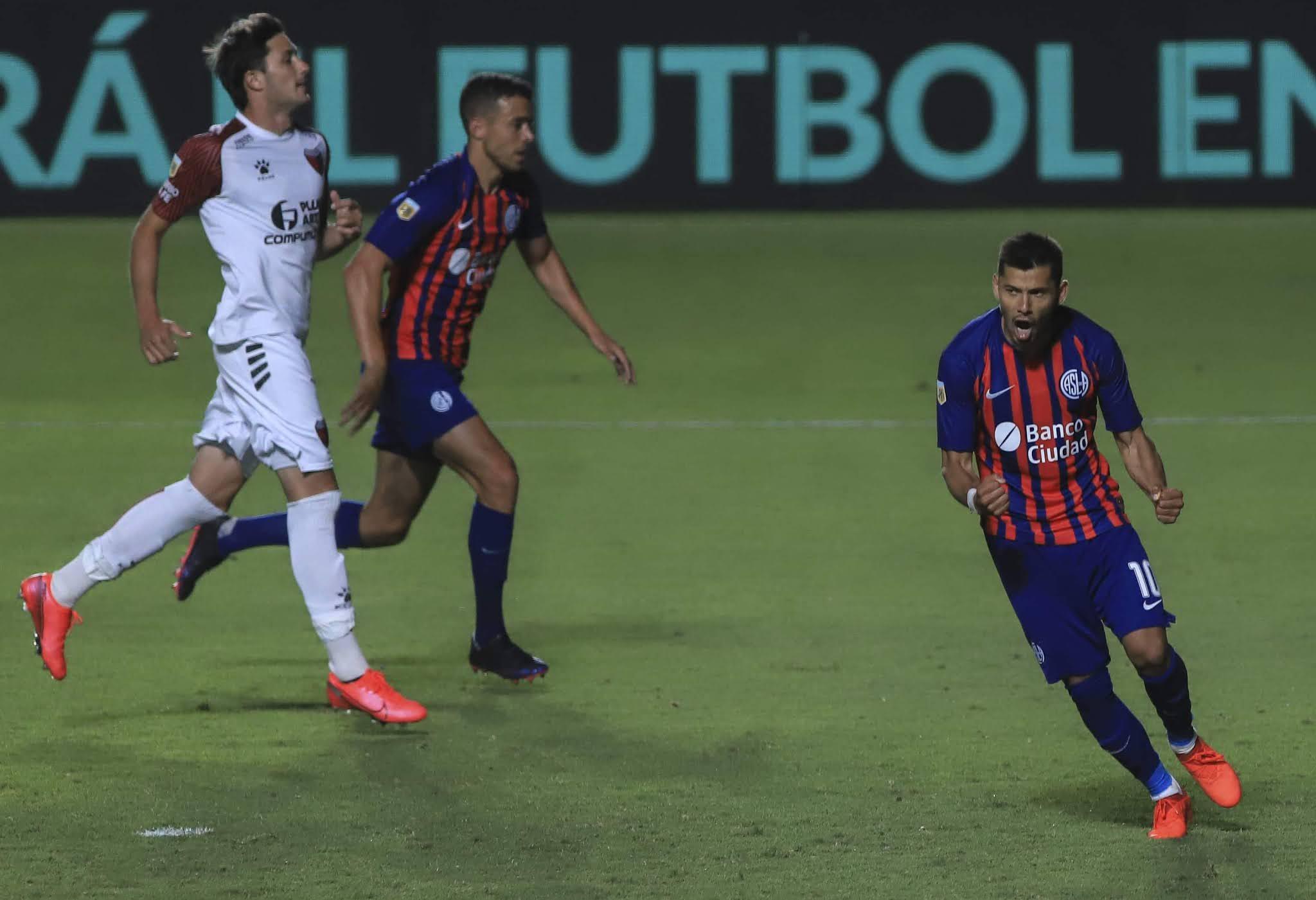 San Lorenzo igualó con Colón y a ambos se les complica la Copa Maradona