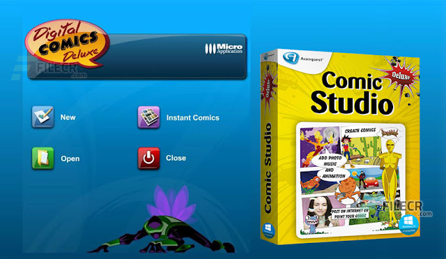 Digital Comic Studio Deluxe v1.0.5.0 Full Latest