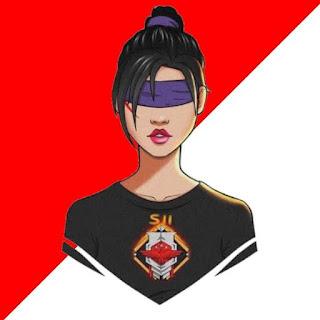 Cartoon Free Fire feminino