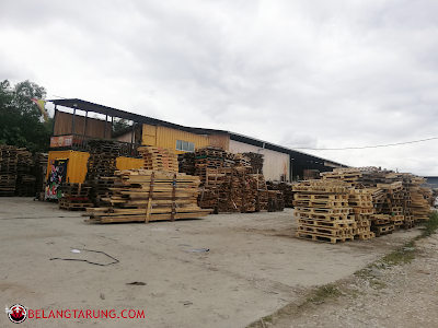 Papan Pine Wood Yard and Office