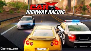 تحميل CarX Highway Racing مهكرة للاندرويد