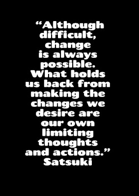Difficulties, positive thoughts