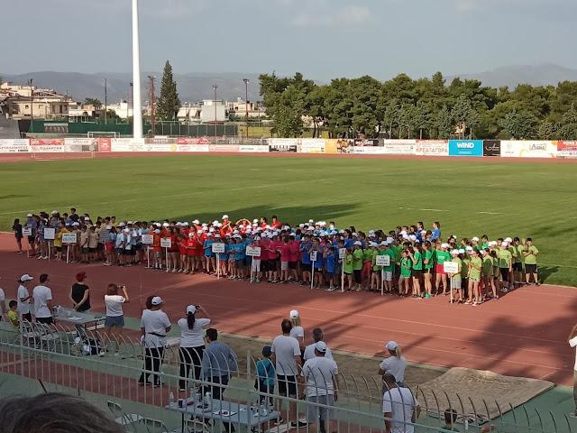 Συμμετοχή του Κέντρου Ελπίδα Ζωής στην 8η Αθλητική Γιορτή Στίβου στο Άργος