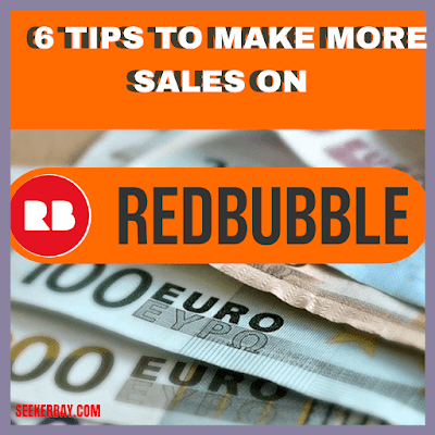 How to increase your redbubble sales