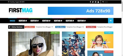 FirstMag Blogger Template