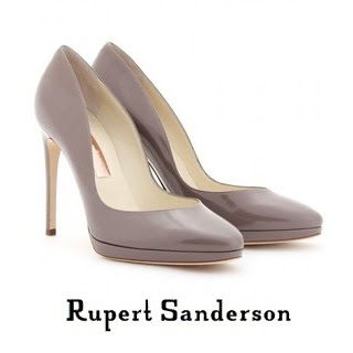 Queen Maxima - Rupert Sanderson Wanda Patent Leather Pumps
