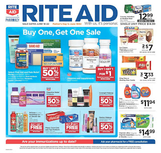 ⭐ Rite Aid Ad 6/16/19 and 6 23 19 ✅ Rite Aid Weekly Ad June 16 2019