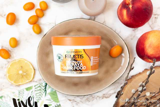 Garnier Fructis Papaya Hair Food отзыв