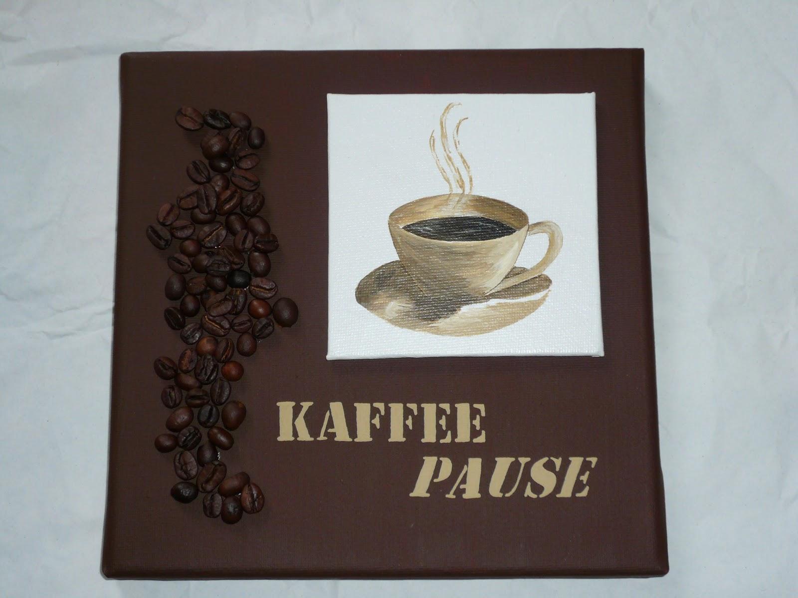 wenkes kreative welt kaffeebilder als k chendekoration. Black Bedroom Furniture Sets. Home Design Ideas