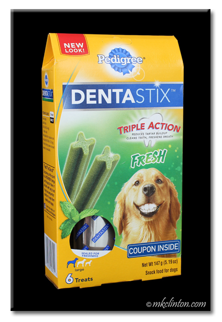 Pedigree ® DENTASTIX box with Fresh flavor