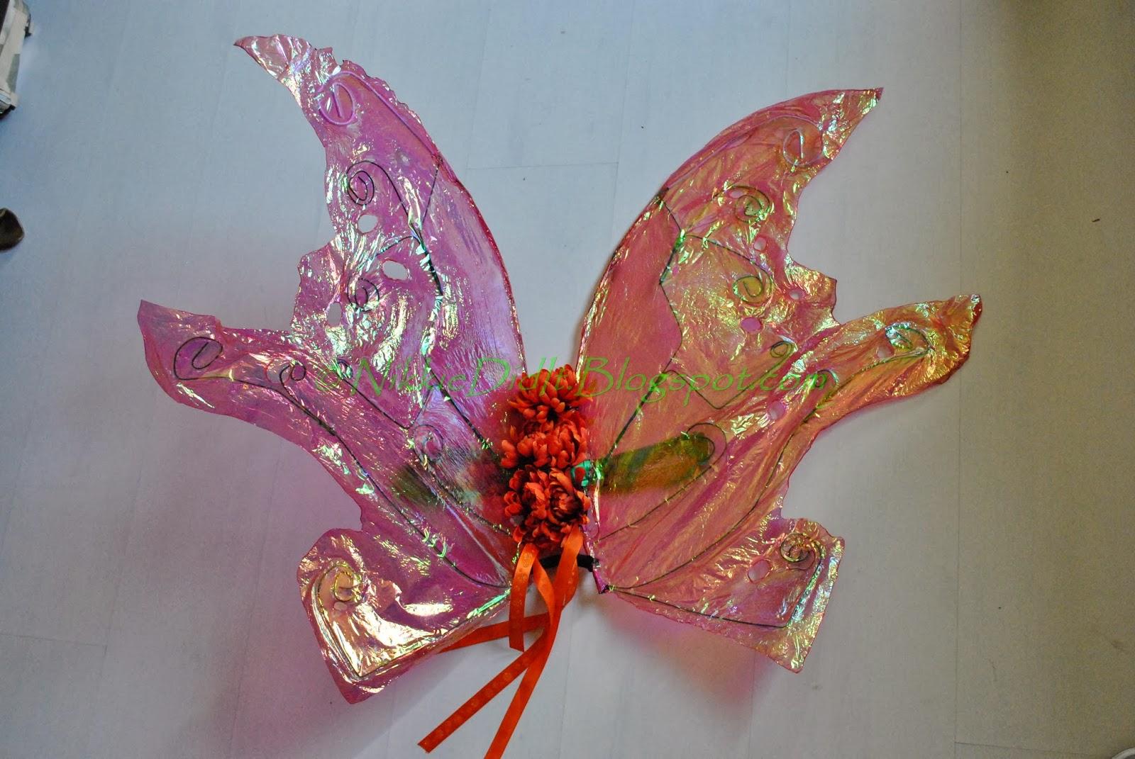 Cellophane Fairy Wings | Nikkie Did It