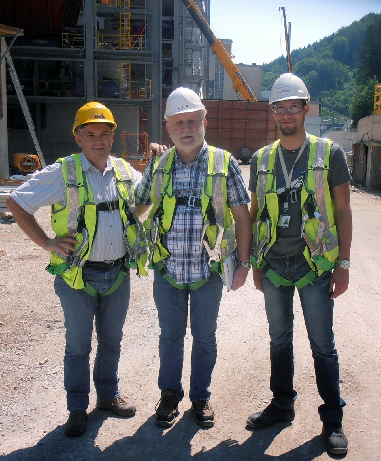 2014 auf der Baustelle