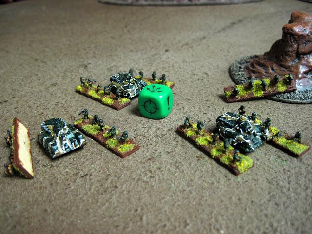 Karl's broken troops give in to their despiration.