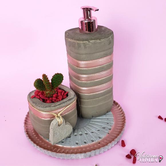 Diy conjunto de  cimento para banheiro - valdirene oliveira